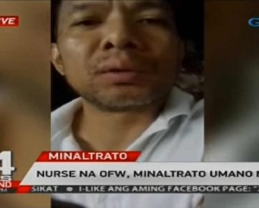 OFW Nurse Escapes after Getting Repeatedly Maltreated by Employer