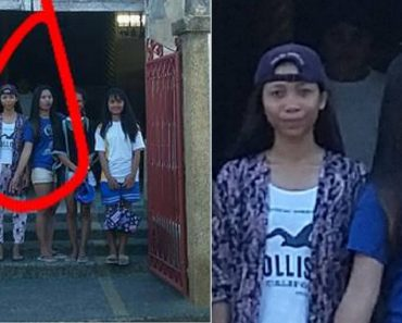 Dead Priest 'Photobombs' a Group's Photo Outside a Church