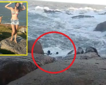 Couple Dies after Huge Waves Slammed Them on the Rocks While They Posed for Photos