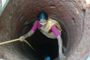 51-Year-Old Woman Digs a Well for Her Farm, All Alone in 3 Months
