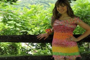 This Woman Used 10,000 Candy Wrappers to Create a Stylish Dress