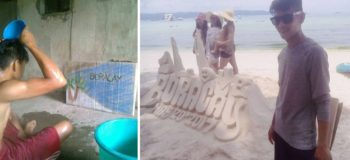 Remember 'Tabo Boy'? Generous Sponsors Brought Him to Boracay for Real!