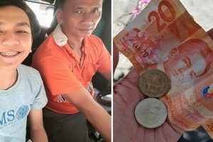 Kind Jeepney Driver Gives Money to Student Who Lost His Wallet