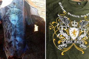Fisherman Reveals that 'Tattoo' on Fish was from a T-shirt