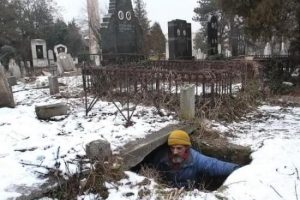 A Grave for Many But a Home for A Man for 15 Years