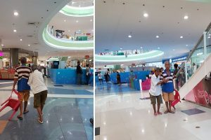Netizen Shares Heartwarming Photos of an Old Couple at the Mall