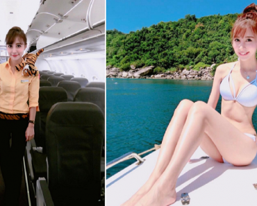 Doll-Like Taiwanese Flight Attendant Goes Viral
