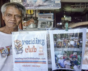 A Filipino Man Opens His Home as a Public Library