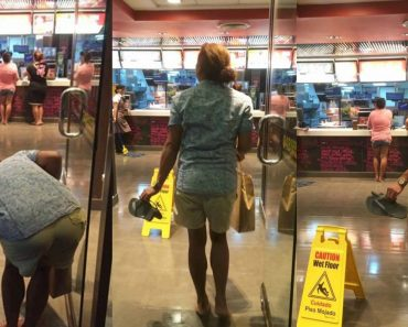 Customer Goes Viral for Taking Slippers Off before Entering McDonald's