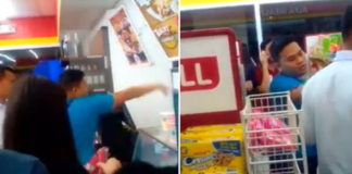 Violent Customer Gets Instant Karma