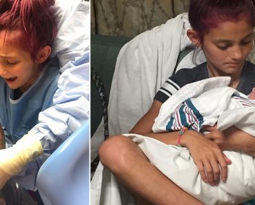 Doctors Let a 12-Year-Old Girl Deliver Her Baby Brother