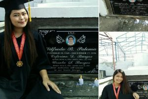Graduate Visits Grave of Super Strict but Supportive Dad