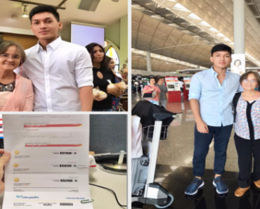 """It's """"Pay Back Time!""""; A Child's Treat For His Mom's Sacrifices as an OFW for 20 Years"""