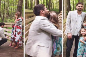 """A Man Proposes to a 5-year-old Girl and Wins her Sweetest """"Yes!"""""""