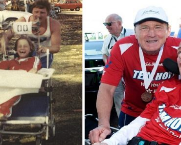 Dad Pushes Wheelchair-bound Son in Over 1,000 Races for 40 Years