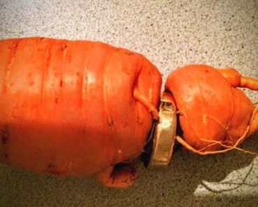 Man Finds Lost Wedding Ring Stuck in a Carrot in His Garden