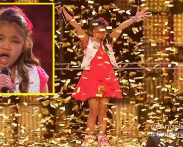 9-Year-Old Filipina Girl Gets Golden Buzzer on America's Got Talent