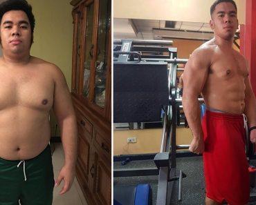 This Guy Goes #FromHarambeToHaramBAE, Motivates Netizens in Fitness Journey