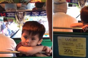 Adorable Boy Goes Viral for Being 'Conductor' for Jeepney Driver Dad