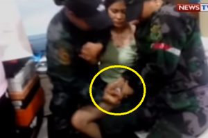 Parojinog Daughter Caught on Video Trying to Hide Suspected Shabu Pack