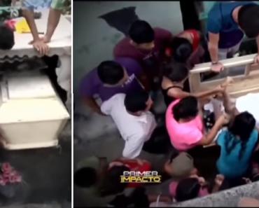 Husband Hears 'Dead' Wife Screaming, Immediately Opens Her Grave