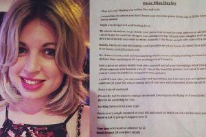 Drunk Lady Receives Strange Letter after Stranger Finds Condoms in Her Purse