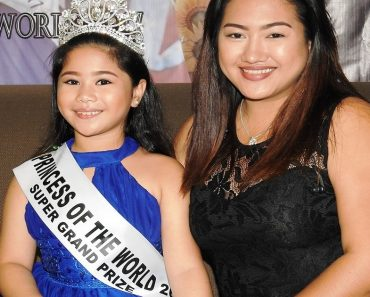 Pinay Girl from Olongapo Wins Princess of the World 2017