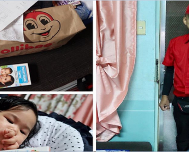 Jollibee Rider Who Bought Medicine for Sick Baby Earns Praise