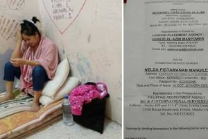 LOOK: Sad Plight of Pinay Imprisoned by Employer for Unknown Reasons