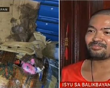 LOOK: Balikbayan Box Arrives in the Philippines Looking Like Trash