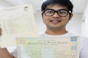 UST Graduate Returns Php34k Despite Also Needing Some Money