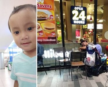 Man with 2-Year-Old Son has Been Sleeping at Jollibee Store for 6 Months
