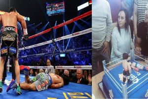 Juan Manuel Marquez Retires, Celebrates with 'Pacquiao Knockout' Cake