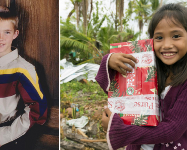 Pinay Girl Who Received Christmas Box from American Boy as a Kid, Marries Him 14 Years Later