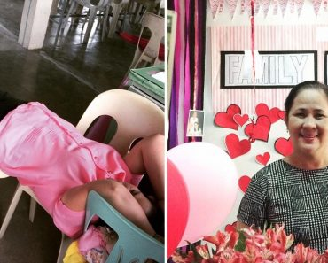 Photo of Tired Teacher Taking a Short Nap on 'Bed' Made of Chairs Goes Viral