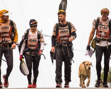Extreme Racing Team Adopts Dog Who Followed Their Difficult 400-Mile Journey