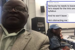 Dad Stranded in Houston Floods Attends Daughter's First Day in Grad School
