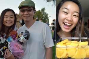 Loving Dad Goes Viral for Mailing Sliced Mangoes to Daughter in College