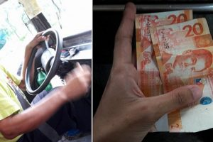 Kind Driver Gives Student Some Money after Learning He Left His Wallet