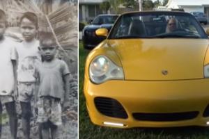 Former Pinoy Street Kid Graduates Summa Cum Laude, Now Drives a Porsche in the US