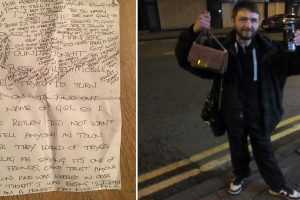 Homeless Man Receives $3,000 Reward for Returning Bag with $300 and iPhone