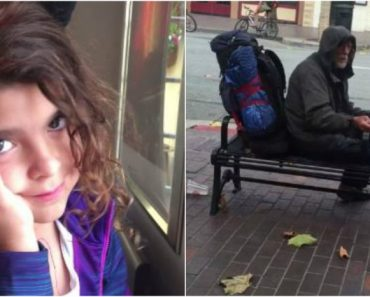 Generous Girl Praised for Reconnecting Homeless Man with Family