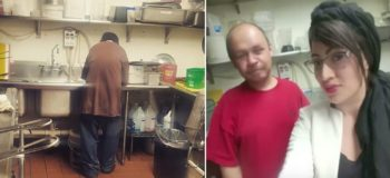 Homeless Man Given a Chance to Work by Kind Restaurant Owner