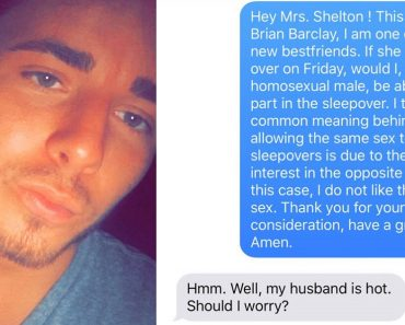Woman's Reply to Gay Teen's Text Message Gets Netizens Laughing