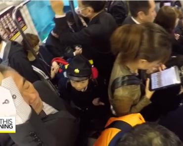 Grade School Kids in Japan Ride Trains, Walk to School by Themselves