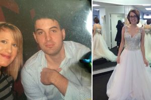 Man Shares Photo of Late Wife in Wedding Dress He Didn't Get to See Her Wear