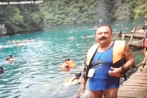 Canadian Tourist Gives Back to Palawan Hospital That Treated Him Well After Accident