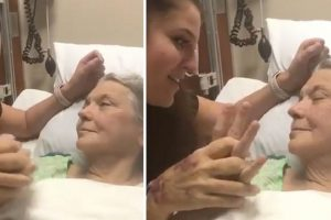 'Angel Nurse' Sings to Dying Patient, Stays at Her Side for Hours