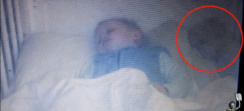 Mom Sees 'Ghost Baby' Sleeping Next to Son While Checking Baby Monitor