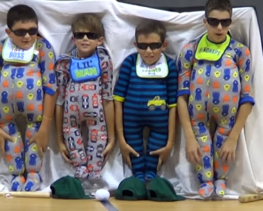 5th Graders 'Wearing' Onesies Make Hilarious Presentation for Talent Show
